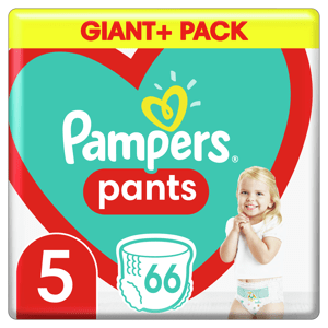 Pampers Plenkové kalhotky Pants velikost 5 66ks