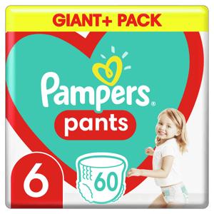 Pampers Plenkové Kalhotky Pants velikost 6 60ks