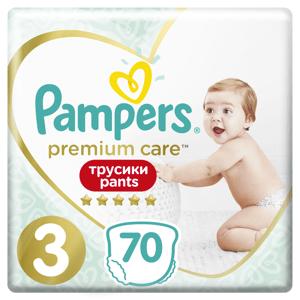 Pampers Premium Care Pants Velikost 3, 70ks