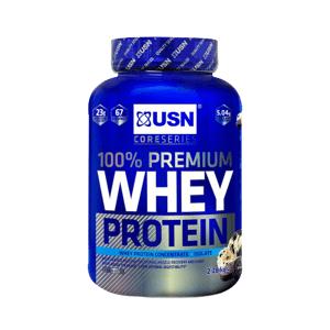 USN 100% Whey Protein Premium smetanová sušenka 2280g