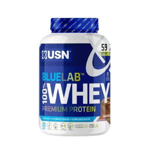 USN BlueLab 100% Whey Protein Premium čokoláda s karamelem 2000g