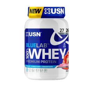 USN BlueLab 100% Whey Protein Premium jahoda 908g