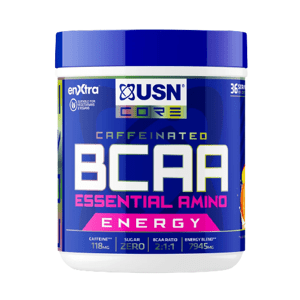 USN BCAA + Power Punch Energy mango - pomeranč 400g