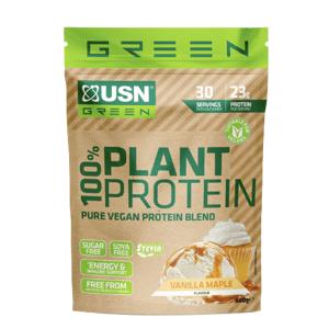 USN 100% Plant Protein vanilka 900g