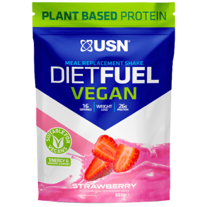 USN Diet Fuel Vegan jahoda 880g
