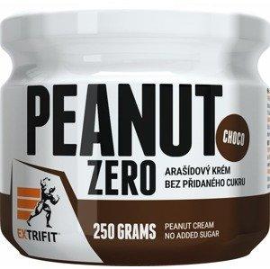 Extrifit Peanut Zero čokoláda 250g