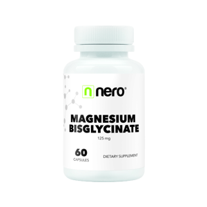 NERO Magnesium Bisglycinate 60 kapslí