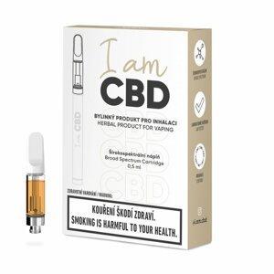 I am CBD náplň do inhalátoru širokspektrální CBD original 0,5ml