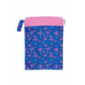 Bobánek Nepromokavá taška normal Modré květiny 1ks