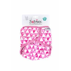 Bobánek Svrchní kalhotky extra jemné suchý zip - Trojúhelníčky