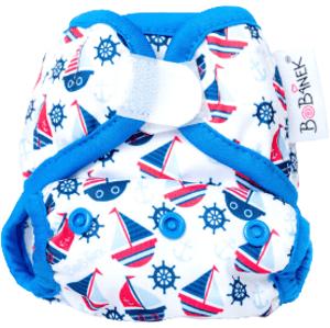 Bobánek Novorozenecké svrchní kalhotky suchý zip - Lodičky 1ks