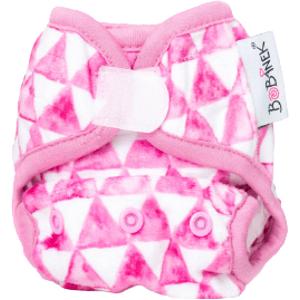 Bobánek Novorozenecké extra jemné svrchní kalhotky suchý zip Trojúhelníčky 1ks