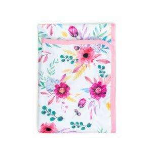 Bobánek Přebalovací podložka - Růžové květiny
