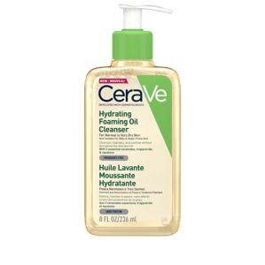 CeraVe Hydratační čisticí pěnící olej s obsahem 3 esenciálních ceramidů a lipidů 236ml.