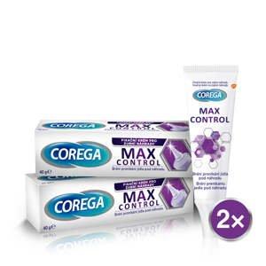 Corega FIX 40g Max Control DUOPACK