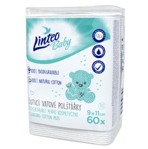Linteo Baby Dětské vatové čisticí polštářky 60ks