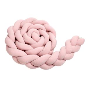 T-Tomi Pletený mantinel 220 cm Pink Dots 1ks