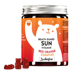 Bears With Benefits Beach Guard Antioxidační vitaminový komplex na opalování 60ks