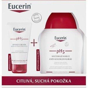 Eucerin pH5 reg. krém na ruce + mycí emulze na ruce
