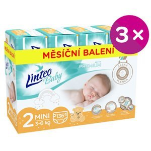Plenky Linteo Baby Prémium MINI (3-6kg) 408ks