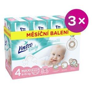 Plenky Linteo Baby Prémium MAXI (8-15kg) 600ks