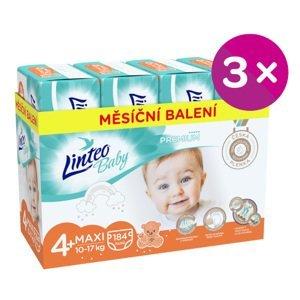 Plenky Linteo Baby Prémium MAXI+ (10-17kg) 552ks
