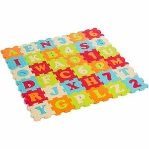 Ludi  Puzzle pěnové 90x90cm písmena a čísla