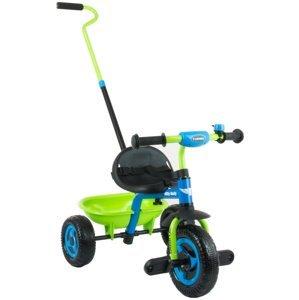Milly Mally Dětská tříkolka Boby TURBO blue-green