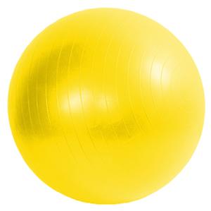 Míč GYMY ABS zesílený Žlutý, průměr 65 cm + hustilka NAVÍC!