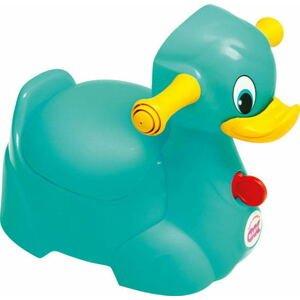 OK Baby  Nočník Quack tyrkysová