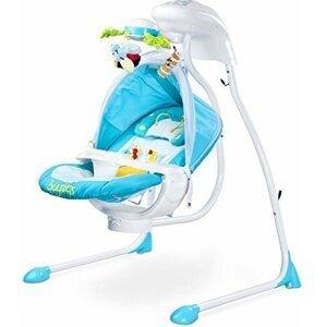 Dětská houpačka CARETERO Bugies blue