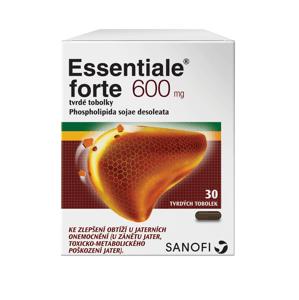 Essentiale® Forte 600mg tvrdé tobolky 30ks