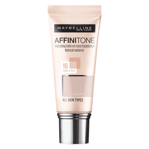 Maybelline Affinitone krycí hydratační make-up s vitaminem E 16 Vanilla Rose 30ml