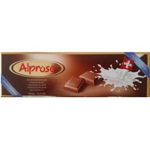 Alprose čokoláda mléčná 300g