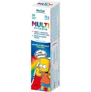 Revital The Simpsons Multivitamin 20 šumivých tablet
