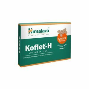 Himalaya Koflet–H Ginger 12 pastilek