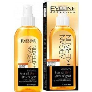 Eveline Cosmetics  Eveline Argan + Keratin - olej na vlasy 8v1 150ml
