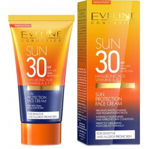 Eveline Cosmetics  Eveline SunCare opalovací krém na obličej SPF 30 50ml