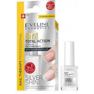 Eveline Cosmetics  Eveline Spa Nail Total 8v1 Silver 12ml