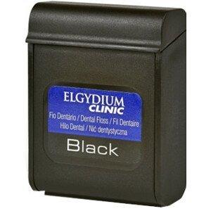 Elgydium Clinic Dentální nit Černá 50m