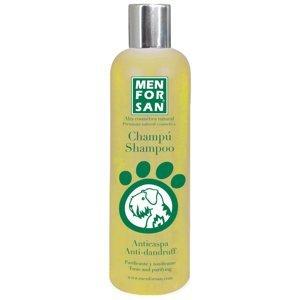 Menforsan Přírodní šampon pro psy proti lupům s citrónem 300ml