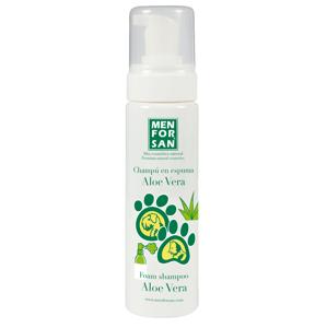 Menforsan Pěnový šampon pro psy a kočky s Aloe Vera 200ml