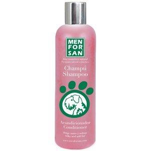 Menforsan Ošetřující šampon s kondicionérem pro psy proti zacuchávání srsti 300ml