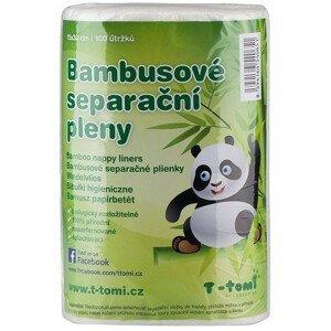 T-tomi  Bambusové separační pleny, 100 ks/role