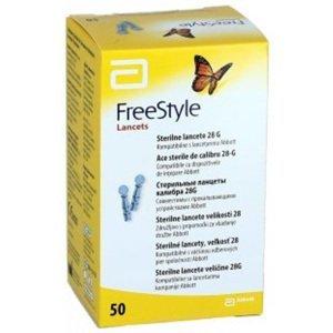 FreeStyle Lancets sterilní vel.28 50ks