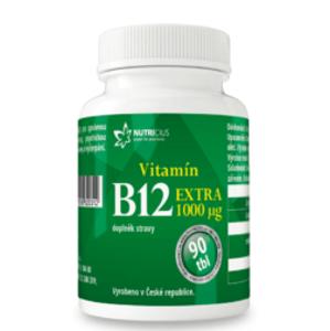 Nutricius Vitamín B12 EXTRA 1000mcg 90 tablet