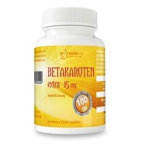 Nutricius Betakaroten EXTRA 15mg 100 tablet