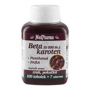 MedPharma Beta karoten 10000 m.j. s Panthenolem + PABA 107 tobolek