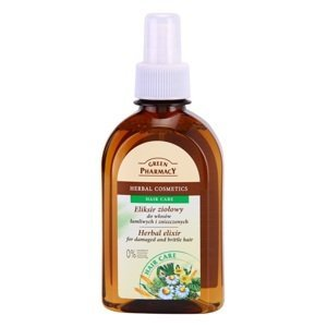 Green Pharmacy  Herbal elixír pro křehké a poškozené vlasy 250ml