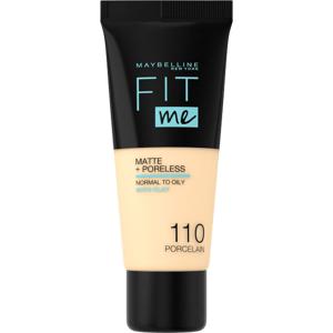Maybelline Fit Me sjednocující matující make-up pro normální až mastnou pleť 110 Fair Ivory 30ml